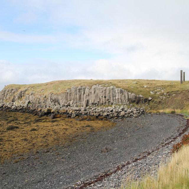 Southwest coast of the nothern part of Viðey.