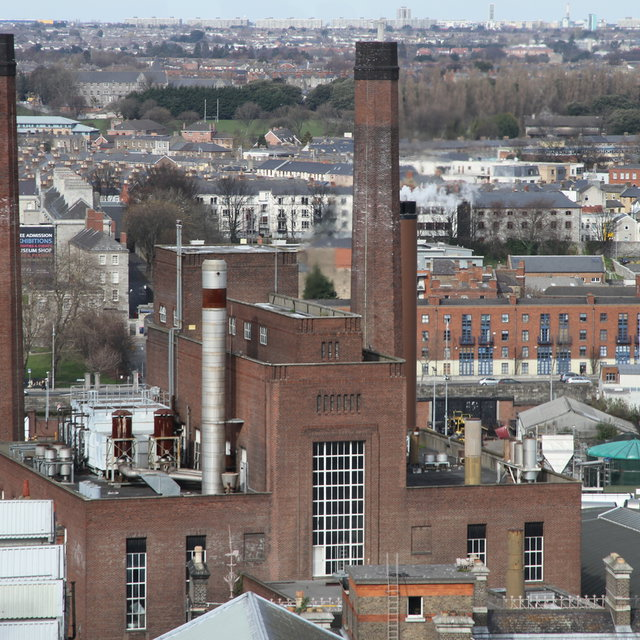The old Guinness brewery.