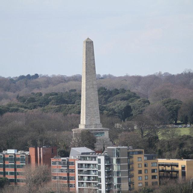 The Wellington Monument in Dublin.