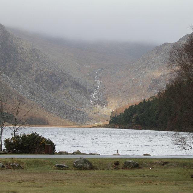The Upper Lake in Glendalough.
