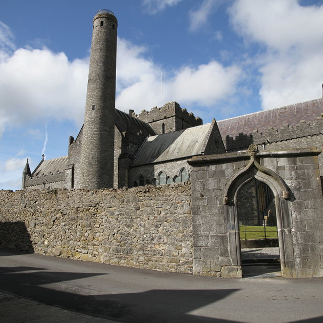 St Canice's Cathedral in Kilkenny.