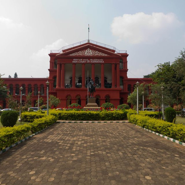 The Karnataka High Court in Bangalore.