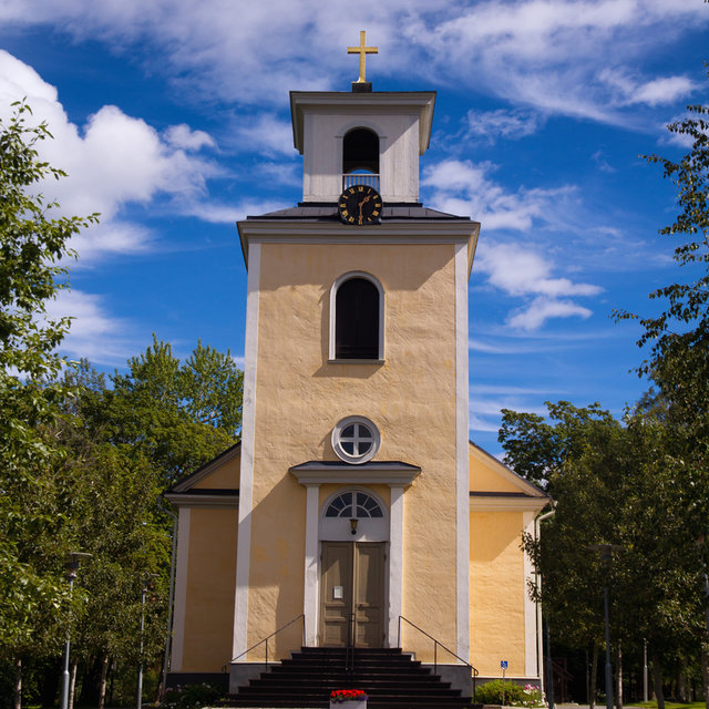 Gamla Kyrkan in Östersund.