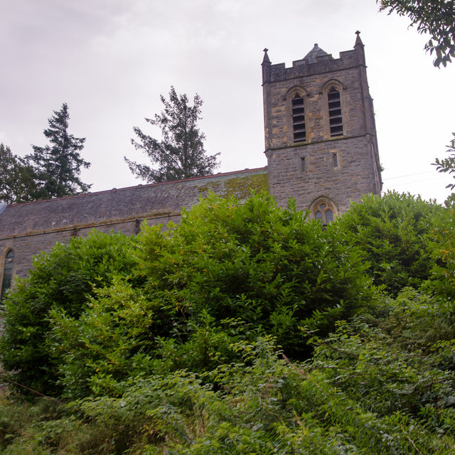 An old church in Fort William that now serves as a climbing hall.