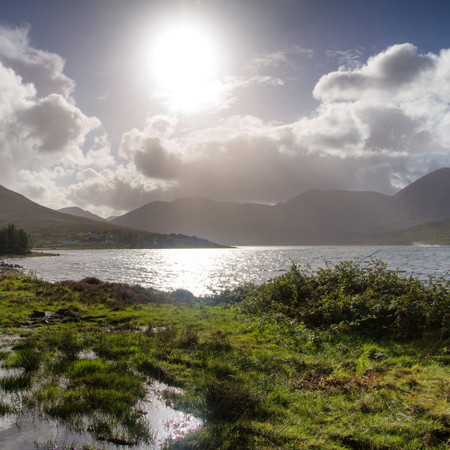 View over Loch Ainort on the Isle of Skye.