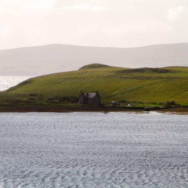 View form Trumpan over Ardmore Bay.