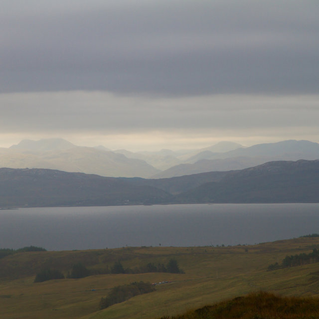 View over Camasunary bay.