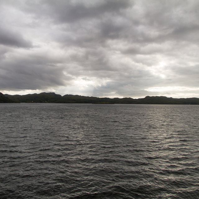 View from Gairloch over the Gair Loch.