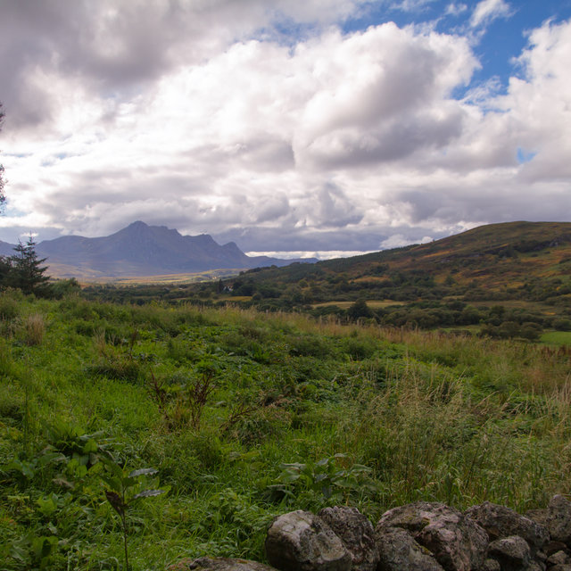 View from Tongue towards Ben Loyal.