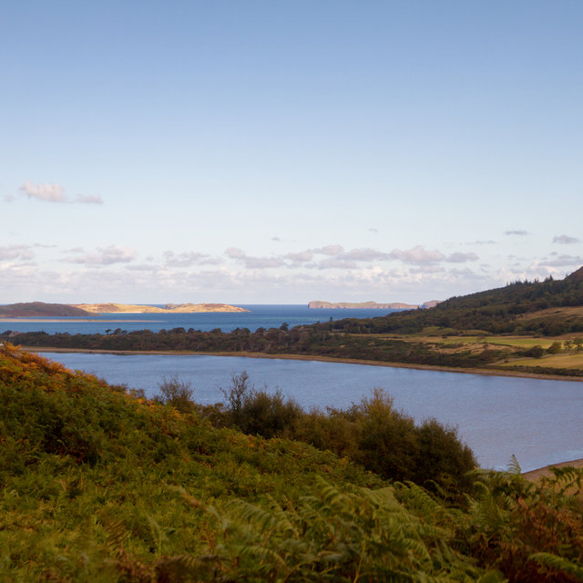 View over the Kyle of Tongue.