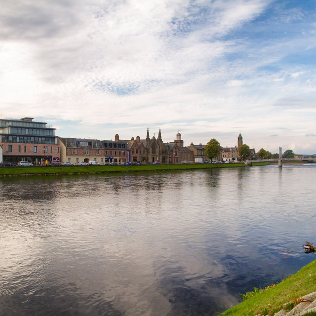 The River Ness in Inverness.