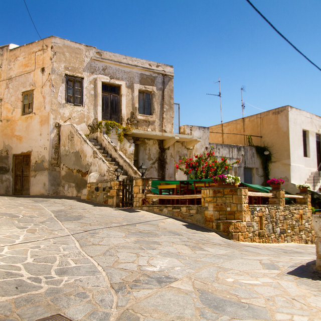 Desolate house in Naxos.