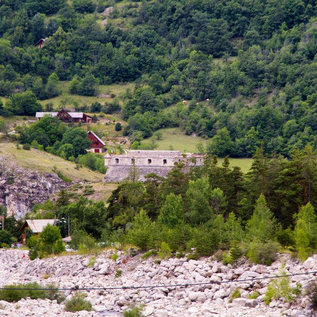 Fort de France in Colmars.