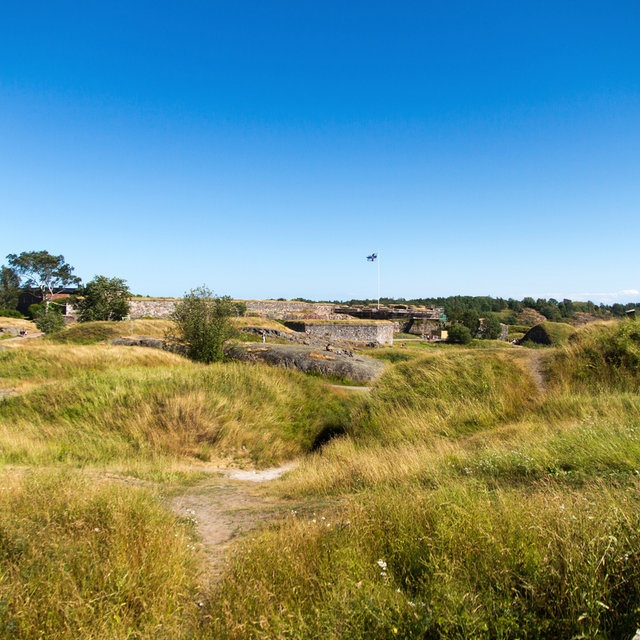 Fortifications of Suomenlinna.