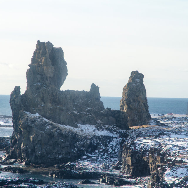 Rock formation on the westernmost end of the Snæfellsnes peninsula.