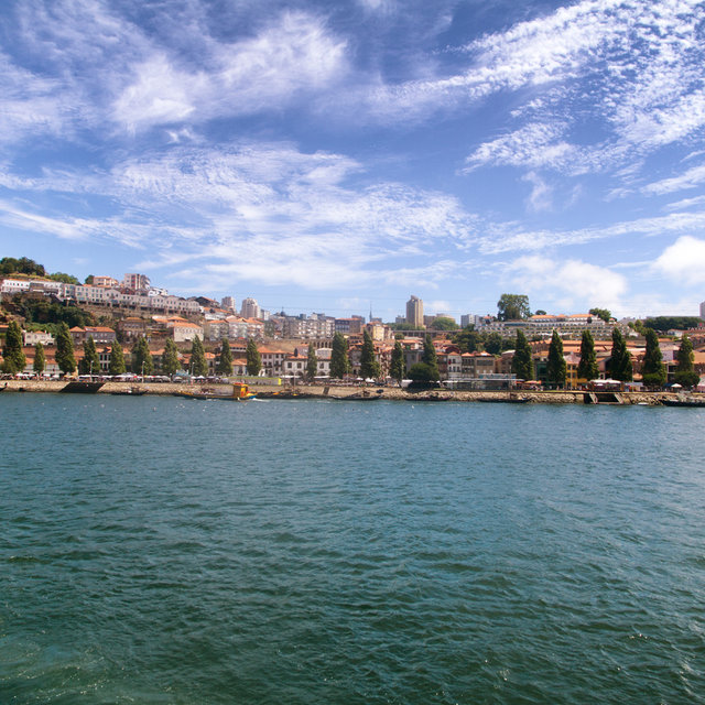 View over the River Douro from the the Ribeira quarter.