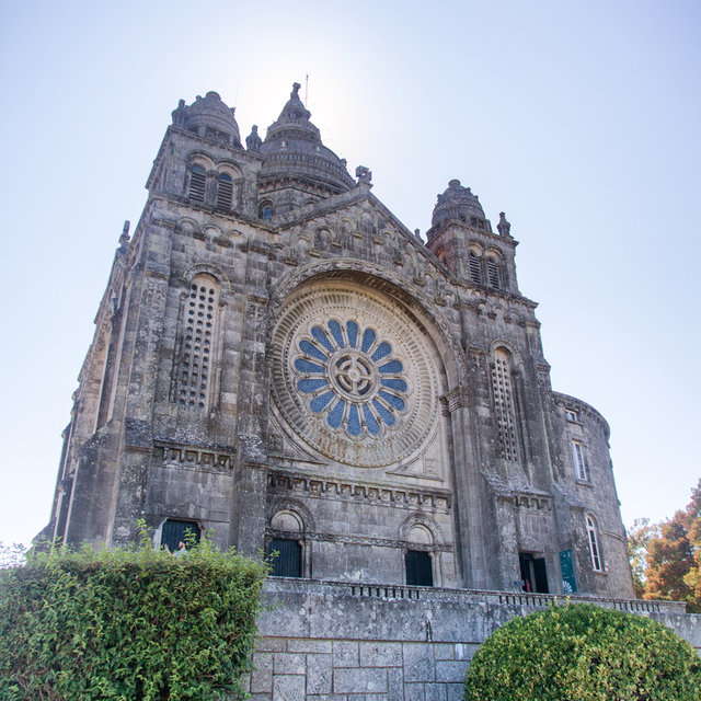 The Church of Santa Luzia on the Mount of Santa Luzia in Viana do Castelo.