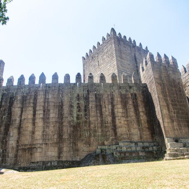 View of Guimarães Castle.