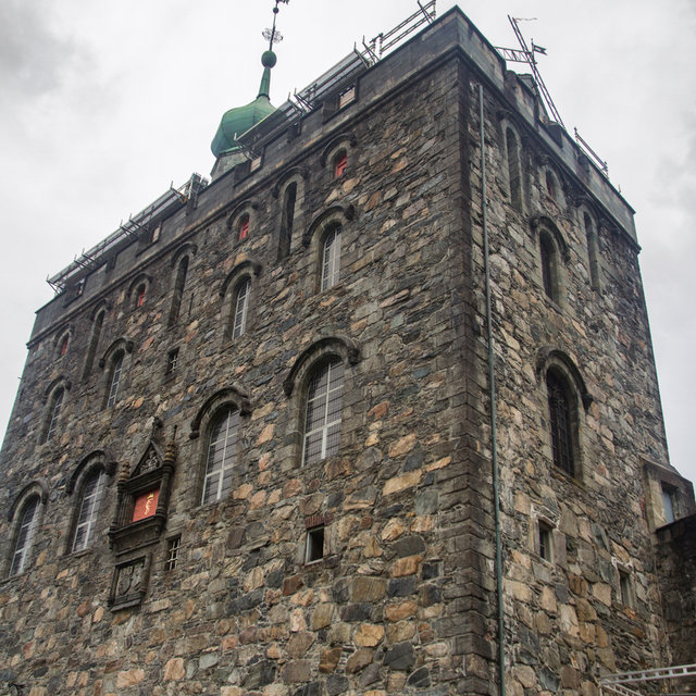 The Rosenkrantz Tower of the Bergenhus Fortress.