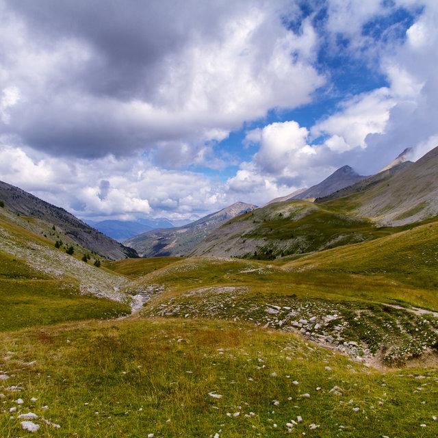 View of the Ravin de Nonciere.